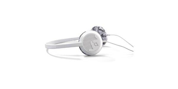 Designové biele slúchadlá Frends