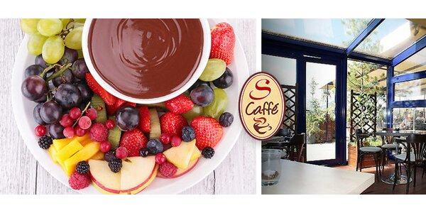 Fondue z belgickej čokolády s ovocím