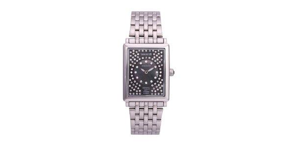 Dámske luxusné analogové oceľové hodinky Lancaster