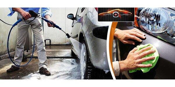 Kompletné vyčistenie auta s tepovaním