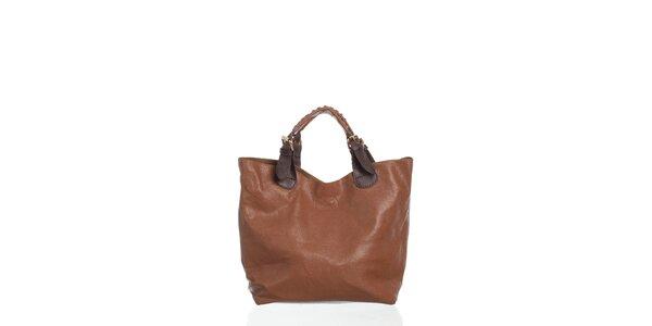 Dámska hnedá kabelka Moow