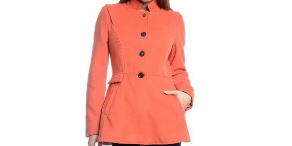 Dámsky krátky oranžový kabátik Bella