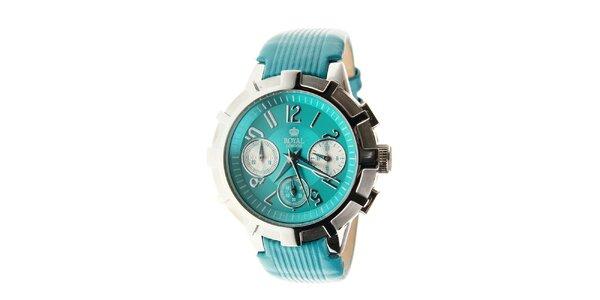 Dámske tyrkysovo modré hodinky Royal London