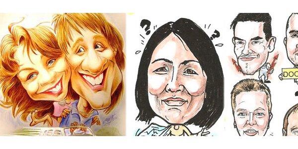 Karikatúra alebo portrét podľa vašej fotografie