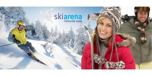 Celodenný skipas do lyžiarskeho strediska SKIARENA Fačkovské sedlo