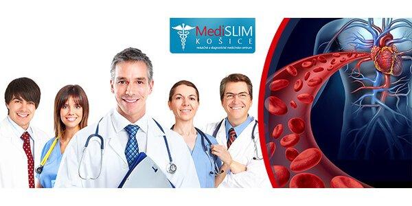 Vyšetrenie ciev a srdca prístrojom Medexpert-TensioMed
