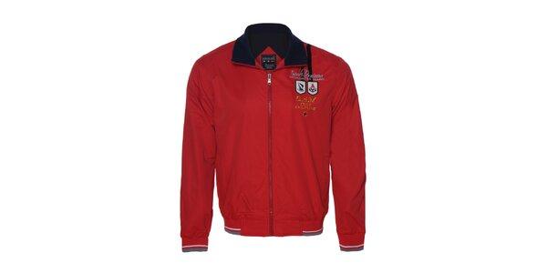 Originálna pánska červená bunda Giorgio di Mare