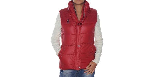 Dámska červená prešívaná vesta Giorgio di Mare