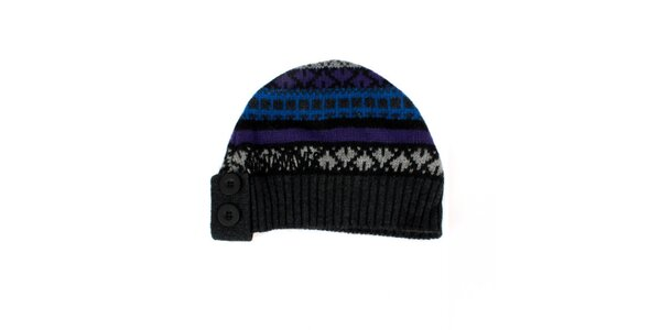 Dámska farebná pletená čiapka Nolita