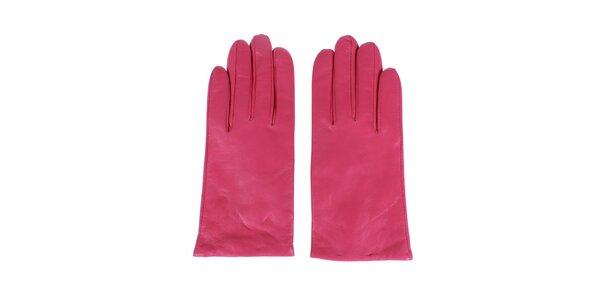Dámske ružové rukavice Nolita