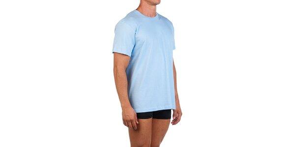 Pánske svetlo modré casual tričko Calvin Klein