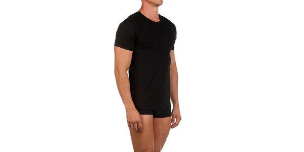 Pánske čierne casual tričko Calvin Klein
