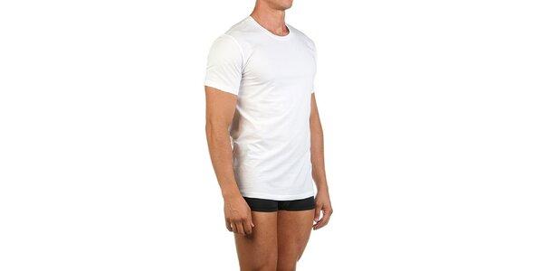 Pánske biele casual tričko Calvin Klein