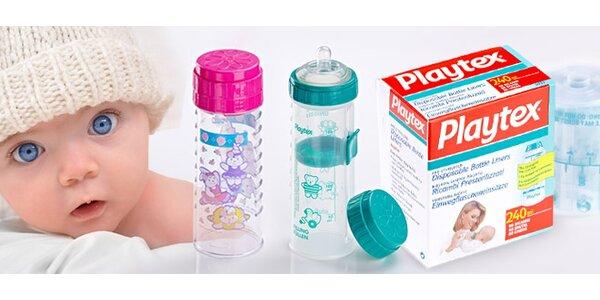 Jednorazové sterilné kojenecké vrecká s držiakom