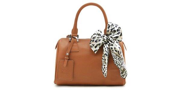 Dámska hnedá kufríková kabelka Belle & Bloom