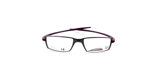 Designové antracitovo-fialové okuliare Tag Heuer