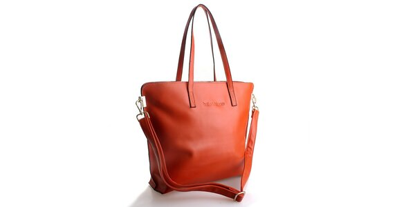 Dámska oranžová kabelka Belle & Bloom