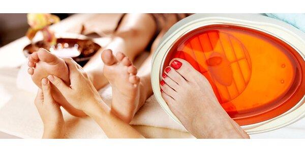 Relaxačná masáž chodidiel a parafínový zábal