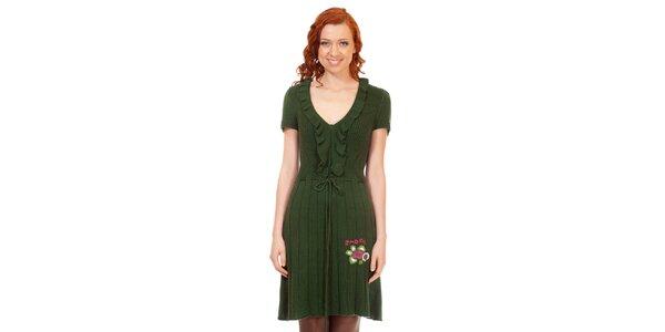 Dámske zelené šaty Rosalita McGee
