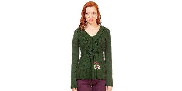 Dámsky zelený sveter Rosalita McGee