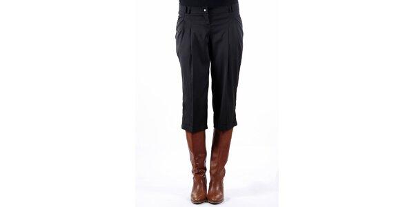 Dámske čierne krátke nohavice Gene
