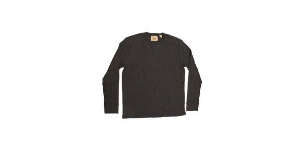 Pánske tmavo šedé tričko Dockers
