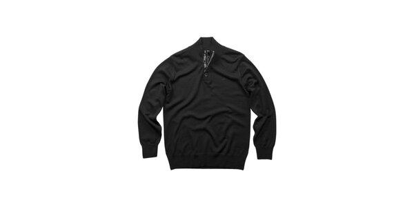 Pánsky čierny merino sveter Dockers
