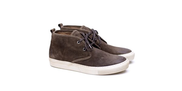 Pánske khaki semišové topánky Shoe the Bear