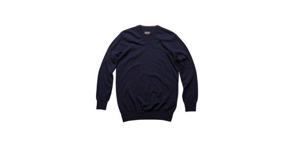 Pánsky tmavo modrý merino sveter Dockers
