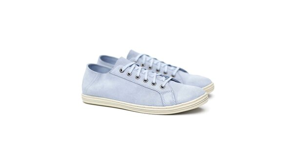 Pánske svetlo modré semišové tenisky Shoe the Bear