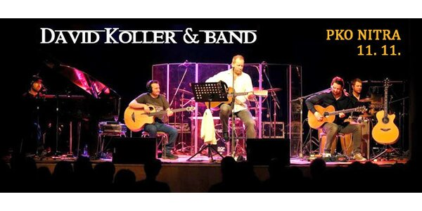 Koncert Davida Kollera & Band 11. novembra