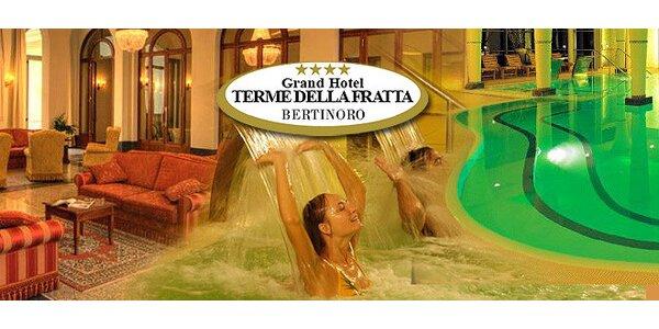 6 dní pre dvoch v termálnom Grand Hoteli Terme della Fratta**** v Taliansku