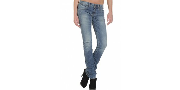Dámske svetlo modré džínsy Replay