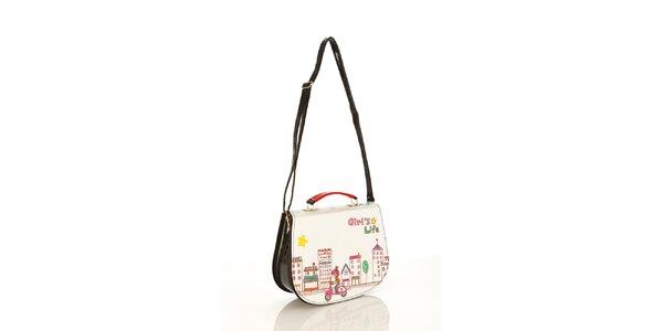 Dámska lakovaná kabelka Elite Goby pre milovníčky mestského ruchu