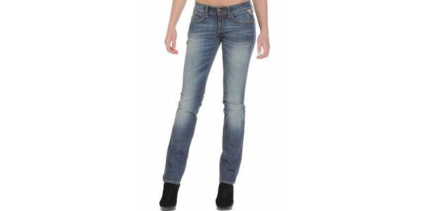 Dámske modré džínsy Replay