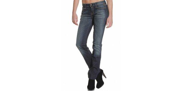Dámske tmavo modré džínsy Replay