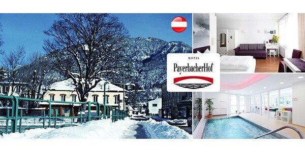 Rodinná lyžovačka a wellness v Rakúsku