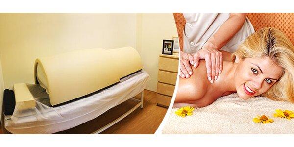 Vodorovná infrasauna alebo relaxačná masáž