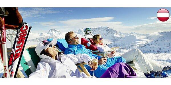 Lyžovanie a wellness v Rakúsku na 4 až 7 nocí