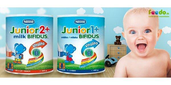 Dojčenské mlieka Nestlé za bezkonkurenčnú cenu