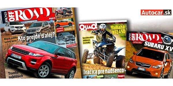 Predplatné 10 čísiel magazínu OffROAD 4x4