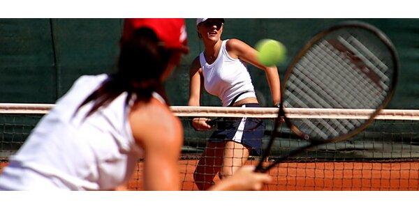 hodinový prenájom krytého tenisového kurtu