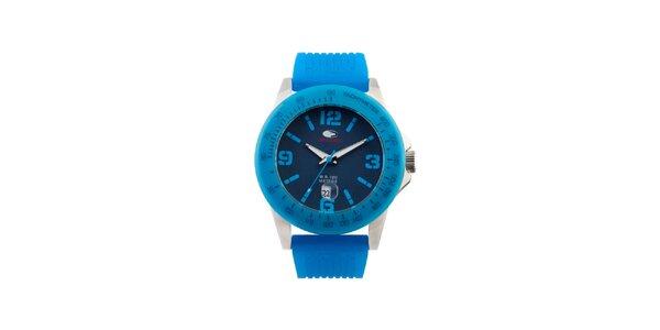 Tyrkysovo modré analógové hodinky No Limits