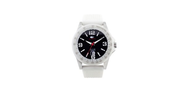 Biele analógové hodinky No Limits