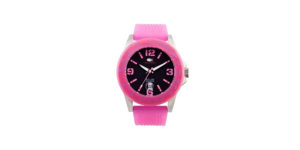 Ružové analógové hodinky No Limits