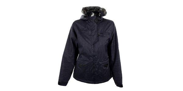Dámska modro-šedá funkčná zimná bunda Meat Fly