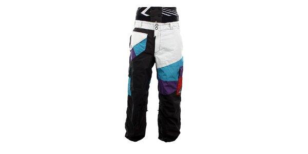 Pánske farebné snowboardové nohavice Meat Fly