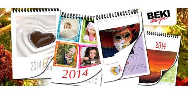 Kalendár na rok 2014 s vlastnými fotkami