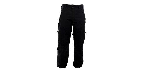 Pánske čierne funkčné nohavice Meat Fly