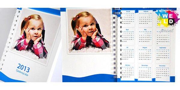 Plánovací diár na rok 2013 s vlastnými fotografiami